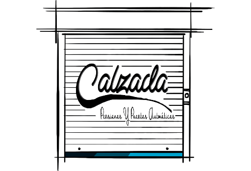 Logo Persianas y puertas automáticas Calzada