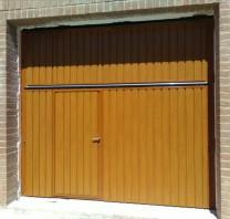 Puerta preleva - Persianas Calzada